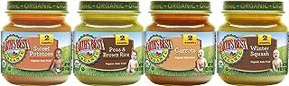 Earth's Best Organic Stage 2 Baby Food, Vegetable Variety Pack, 4 Oz Jar (12 Count)