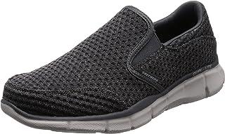 Skechers 52745 Equalizer- Slickster Shoes for Men Grey (Charcoal CHAR), (42.5 EU AE) (52745_CHAR)