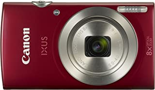 Canon Digital IXUS 185 Cámara compacta 20MP 1/2.3 CCD 5152 x 3864Pixeles Rojo - Cámara Digital (20 MP 5152 x 3864 Pixeles CCD 8X HD-Ready Rojo)