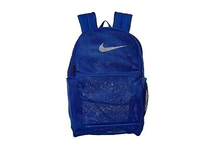 Nike Brasilia Mesh Backpack 9.0 (Game Royal/Game Royal/White) Backpack Bags
