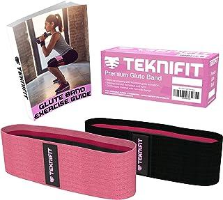 Teknifit Booty Builder - Bande Élastique Premium Hip Band Circle pour Tonification des Fessiers - Bande de Résistance Anti-Dérapante pour Femme