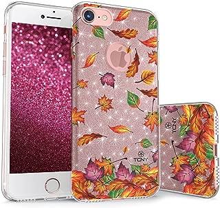 真彩闪耀花卉系列 金色 For iPhone 7 / iPhone 8