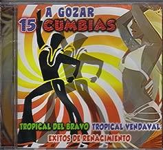 Tropical Del Bravo Tropical Vendaval a Gozar 15 Cumbias