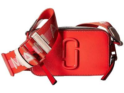 Marc Jacobs Snapshot DTM (Poppy Red Multi) Handbags