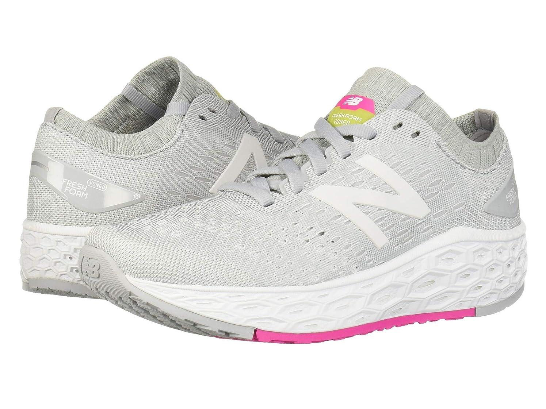 [ニューバランス] レディースランニングシューズ?スニーカー?靴 Fresh Foam Vongo v4 Light Aluminum/White 5 (22cm) D - Wide [並行輸入品]