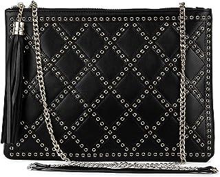 33905055765 Mer's Style - Bolso Mujer Bandolera Pequeño al Hombro, Negro