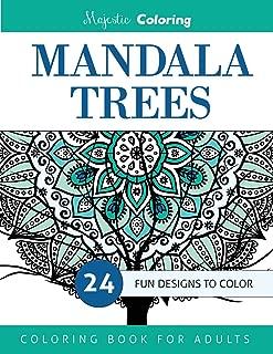 Mandala Trees: Coloring Book for Grown-Ups