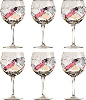 CRISTAL DE PARIS Galleria Lot de 6Verres à vin Blanc