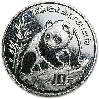1990 silver panda