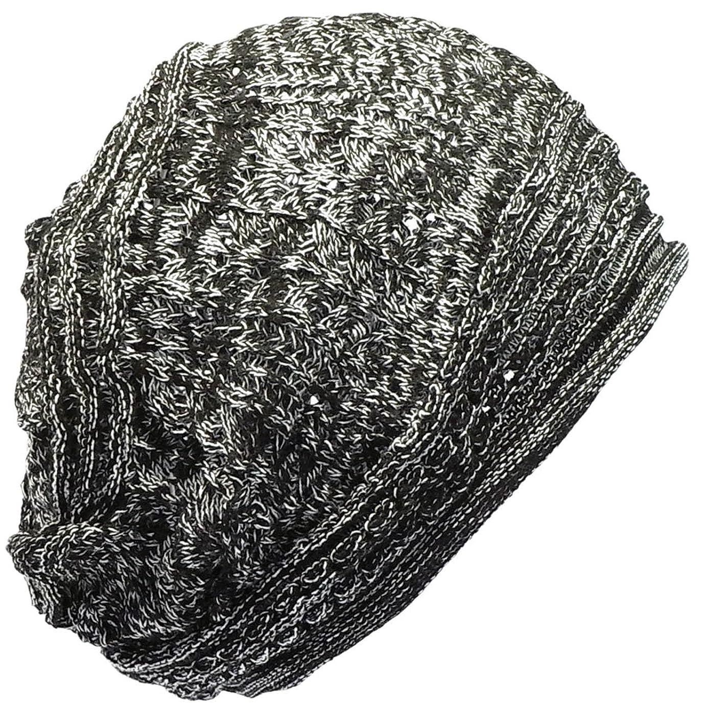 観察するカンガルー葬儀(ディグズハット)DIGZHAT サマーコットンデザイン編みニット帽 薄手 メンズ レディース ニットキャップ 帽子