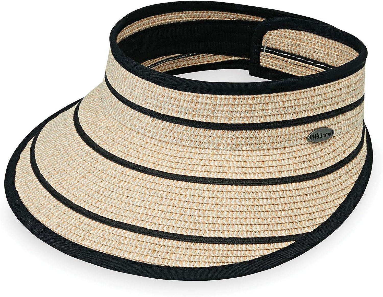 Women's Savannah Sun Visor – Broad Brim Visor, Packable, Adjustable, Elegant Style, Designed in Australia