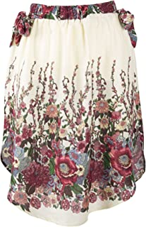 Lofbaz Women's Rayon Flower Printed Short Dress