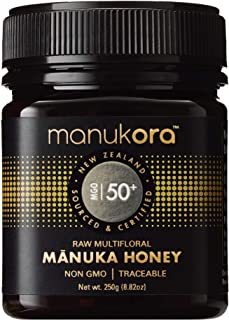 Sponsored Ad - Manukora MGO 50+ Multifloral Raw Mānuka Honey - Authentic Non-GMO New Zealand Honey, Traceable from Hive to...