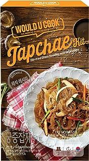 Would U Cook Japchae Kit 5.01oz 1pack /Stir-fried Glass Noodles with Vegetables /Korean Food /Vegan