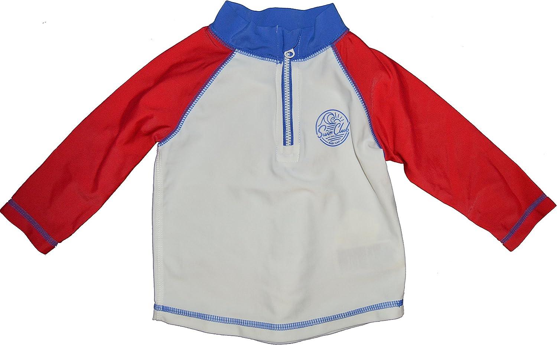 BabyGap Boys Red White Blue Swim Mont Ranking TOP5 Guard Club Charlotte Mall Rash Shirt 6-12