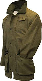 Walker & Hawkes - Mens Derby Tweed Shooting Hunting Country Jacket - Forest Green