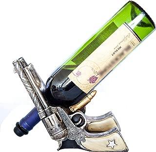 gun wine bottle holder