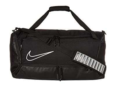Nike Hoops Elite Duffel (Black/Black/White) Duffel Bags