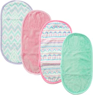 Fresh Face, Makeup Removing Towel, Cloth Removes Makeup and Cleanses Skin, Reusable Single Towel, Wipes Away Cosmetics, Facial Dirt and Oil, Just Add Water - Pack of 4