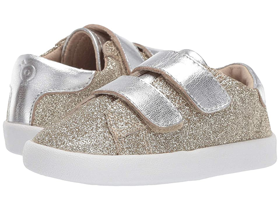 Old Soles Glam Toddy (Toddler/Little Kid) (Glam Gold/Silver) Girl
