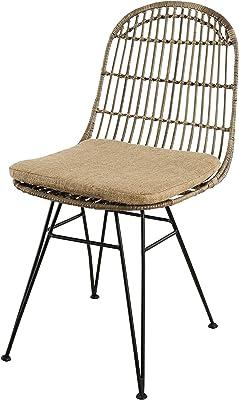 HNNHOME Chaise Inspirée Eiffel Dîner Salon Mobilier Moderne