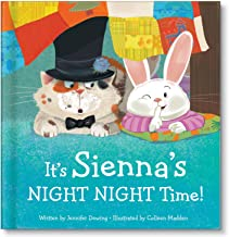 Personalized It's Time for Bed Book Night-Night