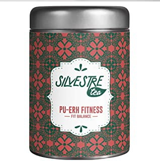 FIT BALANCE Tea Pyramid, Handcrafted Fruit and Herbal Tea Blend, 30 Premium Infuser Teabags, Antioxidant All Natural GMO Free, Presentation Gift Spanish Tin