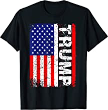 PRESIDENT Donald Trump 2020 Vintage USA Flag T Shirts