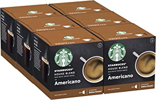 Starbucks House Blend by Nescafe Dolce Gusto 6 x 12 capsules (72 capsules)