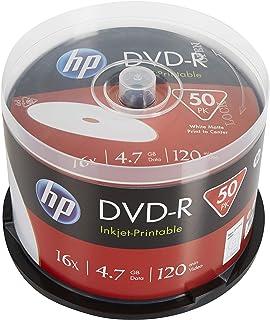 HP DVD-R IJ Print 16X 50PK Box HP 4.7GB