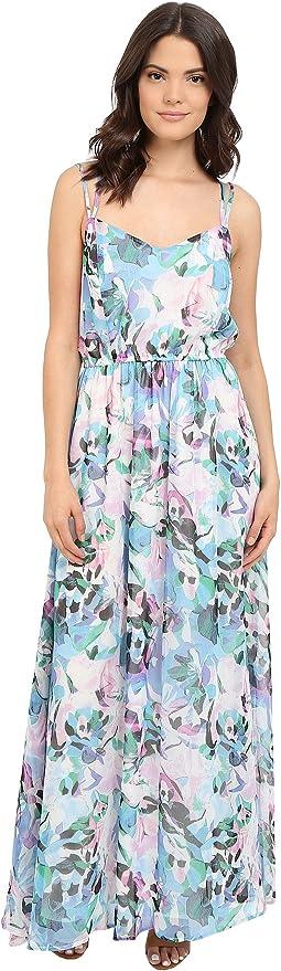 Filippus Floral Haze Printed Maxi Dress