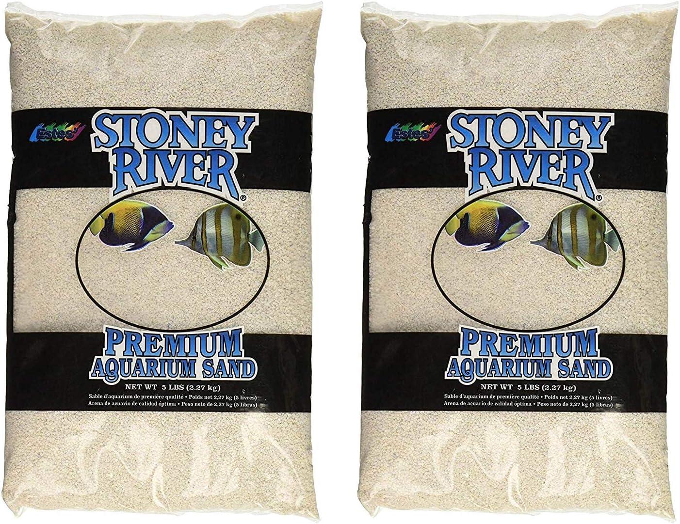 Stoney River White Aquatic Super-cheap Sand Freshwater trend rank and Marine Aquariums