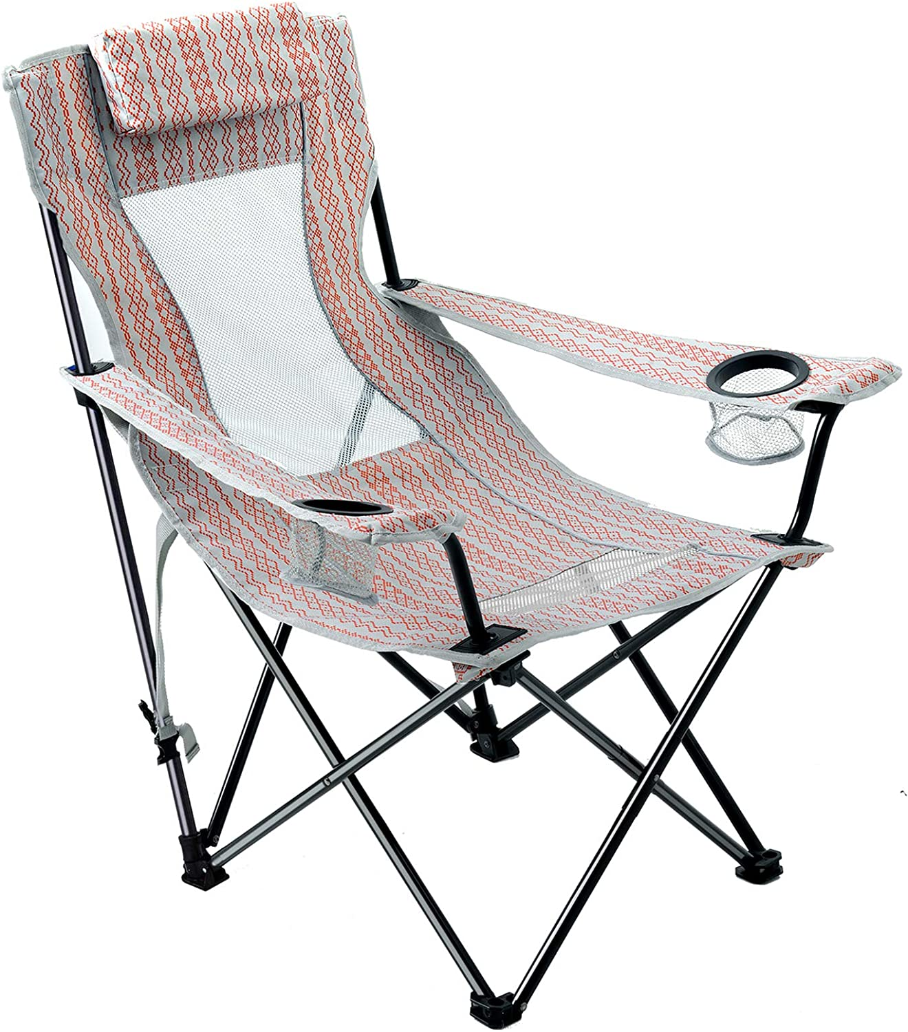 Reclining Oakland Mall Beach Chair with Portable Backpack Lightweight Straps Today's only