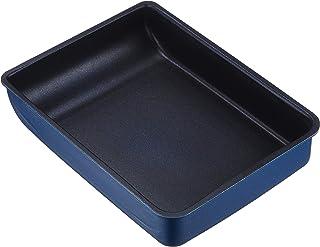 パール金属 卵焼き器 IH対応 13×18cm ダークブルー ブルーダイヤモンドコート AZ-5563卵焼き器13×18cm