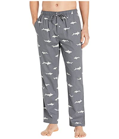 Southern Tide Shark Print Lounge Pants (Polarized Grey) Men