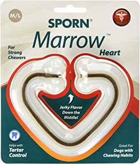 SPORN Dog Dental Toy, Marrow Chew, Heart