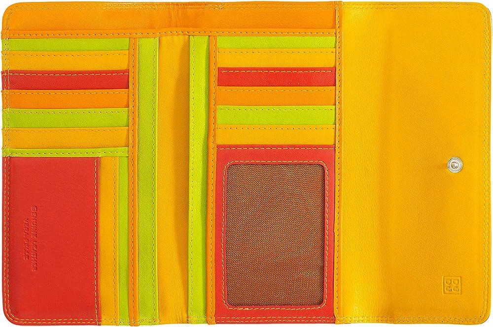 Dudu portafoglio in pelle morbida porta carte di credito con protezione anticlonazione 8031847130058