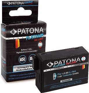 PATONA Platinum Bateria LP-E8 / LP-E8+ Compatible con Canon EOS 550D 600D 650D 700D Rebel T2i T3i T4i T5i