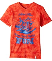 Lucky Brand Kids - Time Flies Tee (Big Kids)