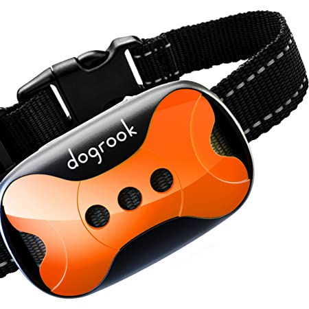 Anti Bark Collar for Small Medium Large Dogs Paws Proper Humane Bark Collar for Dogs Automatic Beeping and Vibrating Dog Collar No Shock Dog Training Collar Stop Barking Dog Collar