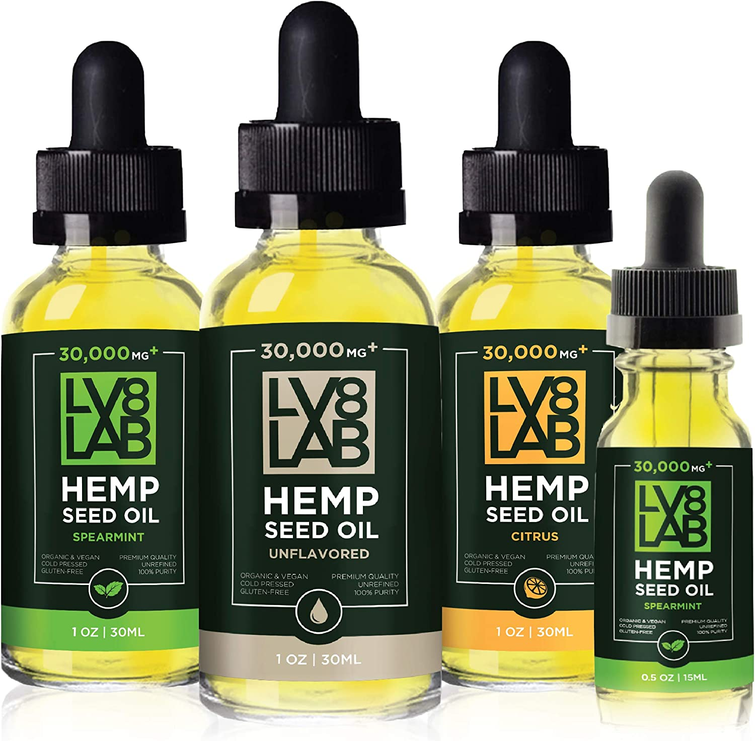 LV8 LAB 30 000mg Hemp OFFer Oil Natural USA latest with Organic in Om Made