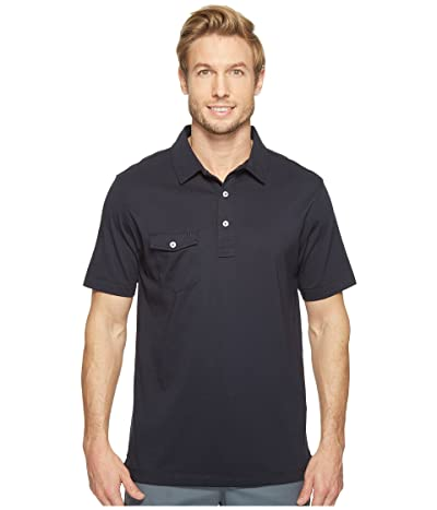 Linksoul LS101 Coast Highway Classic Knit Polo (Navy) Men