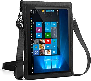 "USA Gear 12-Inch Tablet Case Neoprene Sleeve Cover w/Built-in Screen Protector & Carry Strap X T12 Fits Galaxy Book 10.6"" / Huawei MateBook 12"