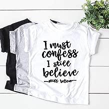 I must confess I still believe- Britney Spears- child tee- graphic tee- baby shower gift- toddler shirt- graphic tshirt - birthday shirt