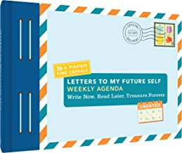 2018 Engagement Calendar: Letters to My Future Self Weekly Agenda