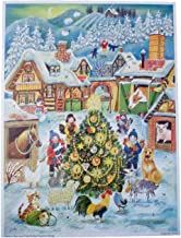 Richard Sellmer Verlag Company Christmas at The Farm Advent Calendar (Approx 10.5 x 14-inches)