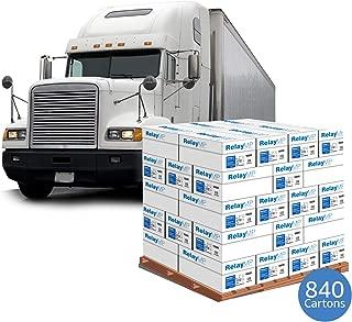 Printer Paper, Multipurpose Copy Paper, 20lb, 8.5 x 11 inch, 92 Bright - 1 Truckload / 840 cases (013020T)