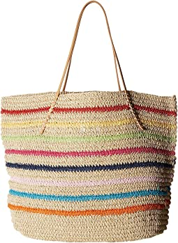 Packable Twisted Tote