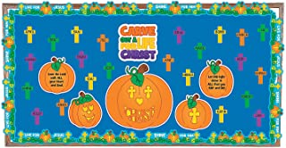 Fun Express Carve Out a Life for Christ Bulletin Board Set - 26 Pieces
