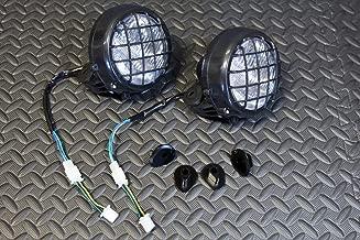 Vito's Performance 2 x New Headlights Yamaha Banshee Lens Bulbs Lights Grills 1996-2001 + Collars